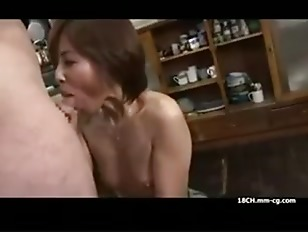 Jap housewife bj...