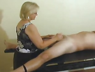 Free mrs watson handjob video