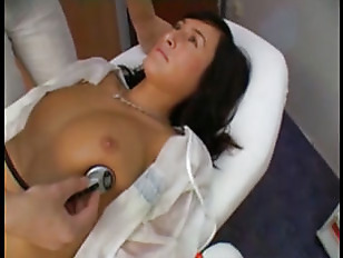 Picture Gyno Checks Her Orgasm