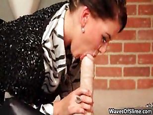 Picture Two Horny Lesbians Go Crazy Getting Jizzed B...