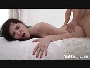 Picture Anal With Alluring Brunette
