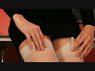 Secretary In Sexy Black...
