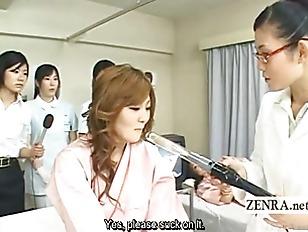 Subtitled Japanese Doctor Blowjob...