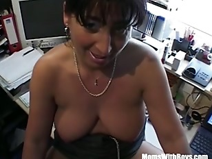 Busty Brunette Mature Fucked...