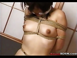 Picture Asian Hottie Hogtied By A Guy