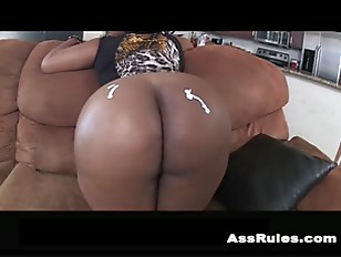 Beautiful Big Ebony Ass...