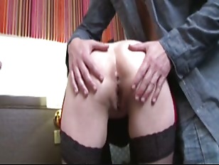 French Mature Gangbanged In...