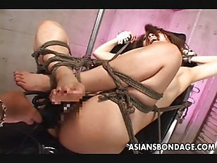 Picture Tied Up Slut Gets Banged By Various Things