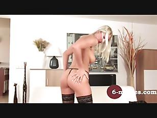Blonde Girl Enjoy Herself...