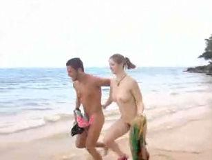 Skinny girl outdoor sex