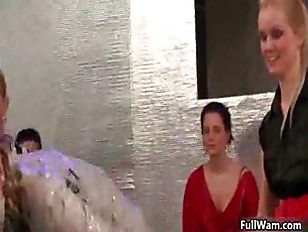 Picture Mud Loving Euro Babes Covered In Dirty In Th...
