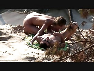 Beach Spy Caught Nudists...