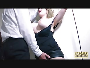 Submissive English slut dommed...