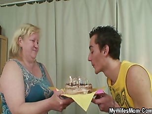 Picture Horny Granny Seduces Her Son In Law