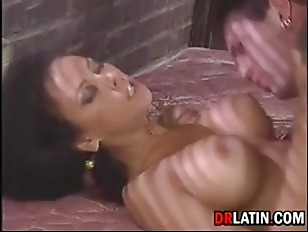 Biker Scores Hot Latina...