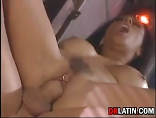 Picture Biker Scores Hot Latina