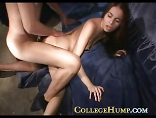 College Amateurs Having Homemade...