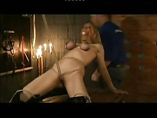 Blonde Slave Gets A...