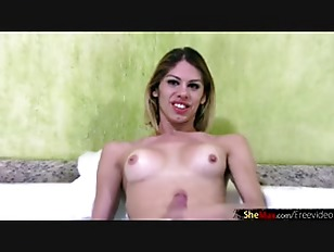 Shemale Teases Her Tits...