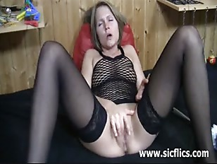 Extreme Slut Cleaning Her...
