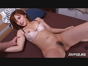 Redhead Asian chick