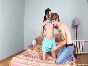 Picture Cute Young Girl 18+ Emily With Her Boyfriend