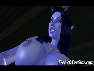 Picture Foxy 3D Cartoon Avatar Alien Getting Fucked...