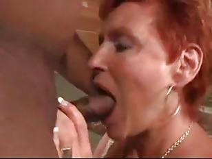 Hot Redhead Granny Cougar...