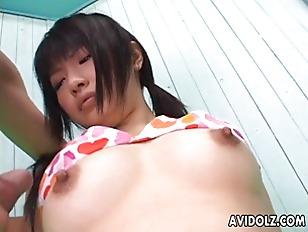 Picture Akane Ozora Slurping Some Cock And Cum