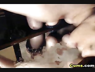 Picture Hot Babe Masturbating Her Tight Unshaved Pus...