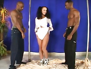 Laura Lion Interracial Threesome...
