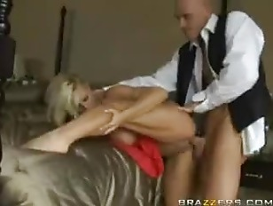 Holly Gets Jizzed...