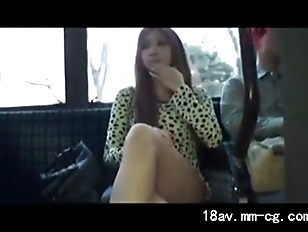 Picture Very Hot Public Transport