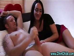 Picture Femdom Cfnm Fetish Slut Gives A Handjob