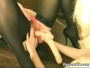 Picture Mothers And A Very Long Dildo