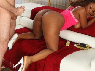 Sinnamon Love Anal Interracial...
