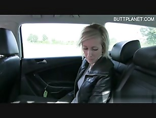 Picture Blonde Hot Babe Hard Sex In Car