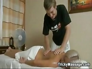 Picture Massaging Her Naked Body