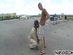 Picture Thug Gets Cock In The Ass By White Jock