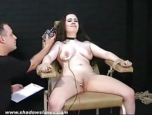 Electro Tortured Bbw In...