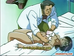 Naughty Anime Doctor Squeezed...