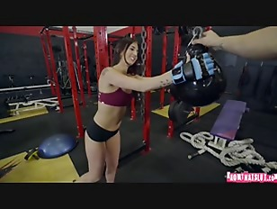 Doggystyle Fuck On Gym...