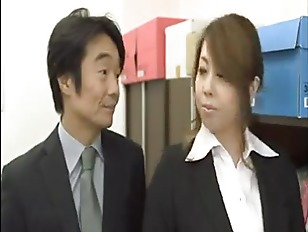 Japanese Office Secretary Getting...