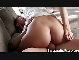 Teen grad fucks stepdad...