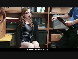 Shoplyfter - Petite teen Hidden Camera Sex Tape