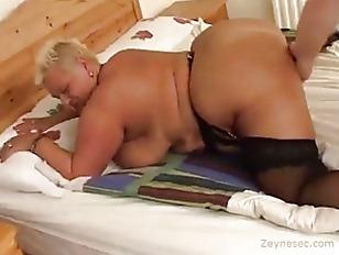 Tattooed Blonde Fatty...