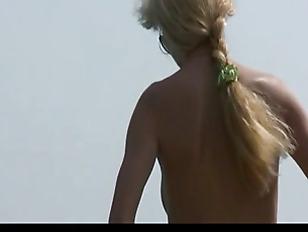 Candid Nude Nudist teenager...