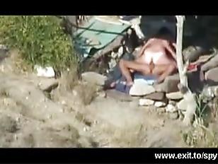 Wild Beach Sex Caught...