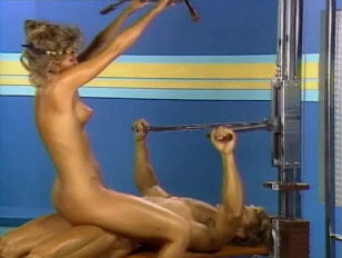 CANDI EVANS WORKING OUT...