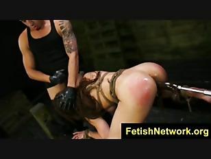 FetishNetwork Kylie Rogue bondage facial